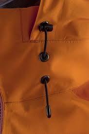 Hood external drawcords