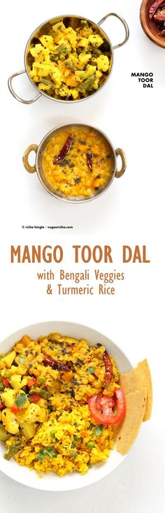 Indian Mango Dal. To