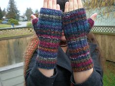 Mountain Colors 4/8's Wool Mountain Colors Twizzle Mountain Colors Mountain Goat Mountain Colors River Twist Mountain Colors Alpaca Blend Ravelry: Sailors Rib Fingerless Mitts pattern by Leslie Taylor