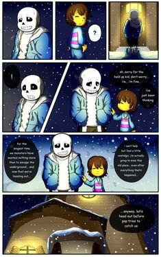 Reminiscence: Undertale Fan Comic Pg 4 by Smudgeandfrank.deviantart.com on @DeviantArt
