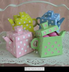 Having a Tea Party.look how cute these little favor boxes are! They are available at Bellisimo Favors Tea Party Favors, Tea Party Theme, Tea Party Birthday, Farm Party, Girls Tea Party, Tea Parties, Alice In Wonderland Party, Mad Hatter Tea, Favor Boxes