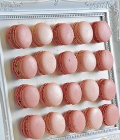 Macarons de vainilla Revista Luz - Isabel Vermal
