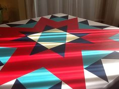 Bar quilt painted quilt block Early Riser select by PYsBarnQuilts
