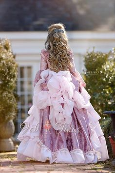 "FabTutus | Products | Dresses | ""Florence"" Dress - Victorian Dreams Collection"