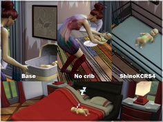 The Sims 4 | Sims Studio: Baby without Crib object mod