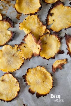 BiteDelite – food blog, recipes and photography » Flower Pineapple Chips