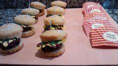 cupcakes hamburguesas