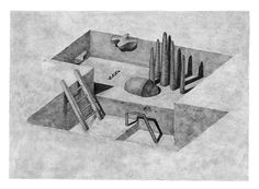 """Pia-Mélissa Laroche, """"Hyper demeures"""" and Other Graphite Drawings – SOCKS"""
