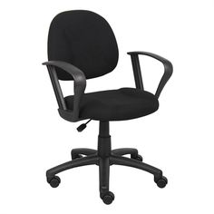 Nicer Furniture AP217 Perfect Posture Task Chair with Loop Arms