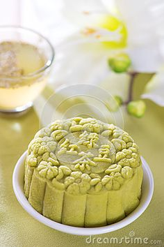 Green tea  mooncake                                                                                                                                                                                 More
