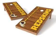 Washington Redskins Single Cornhole Board - Vertical