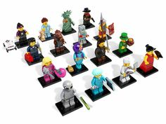 Minifigures 19001: Lego 8827 Complete Set Of 16 Minifigures Series 6 - Brand New -> BUY IT NOW ONLY: $107.95 on eBay!