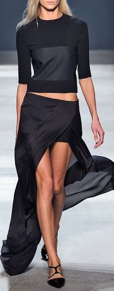 Narciso Rodriguez Spring/Summer 2014 with <3 from JDzigner www.jdzigner.com
