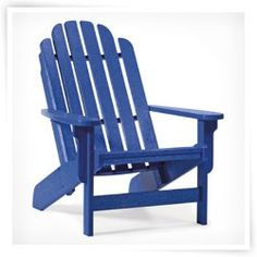 Casual Living BayFront Shoreline Adirondack Chair