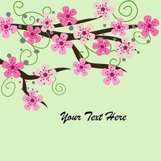 Color combination - wedding clipart Cherry Blossom by aprilhovjacky, $2.00