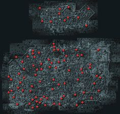Assassin's Creed Revelations Animus Data Fragments Location Map
