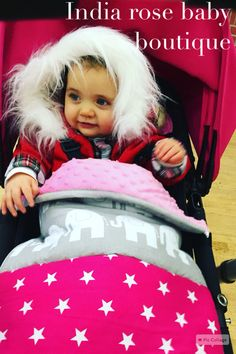 Aaaahhh my cute little model in her hot pink and grey elephant pram customs 😍 Elephant Baby Bedding, Grey Elephant, Pink Grey, Hot Pink, Nursery, Cute, Model, Mathematical Model, Day Care