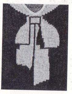 1927 - Schiaparelli 'trompe loeil' sweater