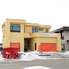 Some pictures of this beautiful new build in the Greens on Gardiner before the drywall. Note the spray foam from ceiling to basement. #BuildDifferent  #YQR #ModernHome #CustomBuild #CustomHomes #quality #modern #original #home #design #imagine #creative #style #realestate #trueoriginal #dreamhome #architecture #dreamhomes #interior #YQRbuilds #construction #house #builder #homebuilder #showhome #beautiful #preparation #dream #DamnGoodHouses