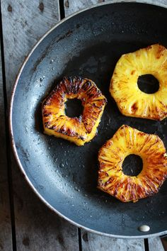 Coconut Caramelized Pineapple