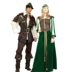 robin hood and maid marian | Robin Hood & Maid Marion | Cool Costumes and Cosplay | Pinterest