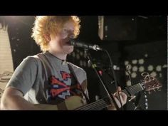so harmonizing with yourself on the radio and playin a gig on the table. yup thats ed