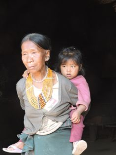 A Konyak Lady###in Mon## Nagaland###Northeast##India##www.neroutes.com