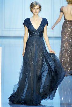 Elie Saab Fall 2011 Couture Fashion Show - Mirte Maas