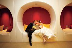 Photographer: Dan Gin Photography | Venue: Sax Chicago #wedding #photography