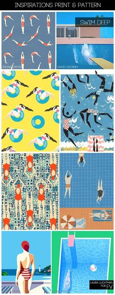[ INSPIRATIONS PRINT + PATTERN ] KUKKA by Laura Luchtman - S/S 2017 - SWIM DEEP