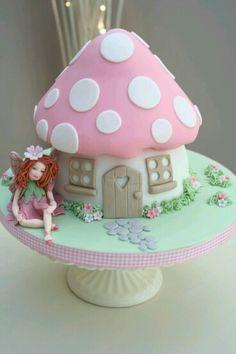 Toad stool cake