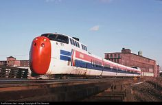 RailPictures.Net Photo: Amtrak 51 Amtrak United Aircraft Turbo at Pawtucket, Rhode Island by The General