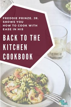If you're ready to get back in the kitchen and cook with ease and tons of flavor, then this cookbook, Back to the Kitchen, by Freddie Prinze, Jr. is for you. Healthy, simple recipes that you'll love!