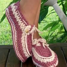 Image result for crochet slippers