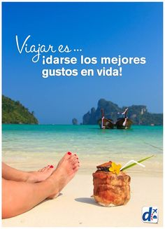 #Viajar es darse los mejores gustos en vida. www.despegar.com.