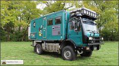 Mercedes Benz 1719AK Expedition Truck