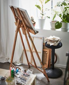 Dorm room ideas can support your studies, too, like this NILSERIK standing support from IKEA. Whether you use it at a desk or an easel, it gives you an active seated position that's good for posture.