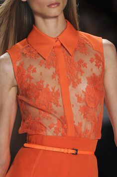 Carolina Herrera at New York Fashion Week Spring 2013