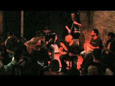 Butcher's Air - Barcelona Gipsy Klezmer Orchestra Live Jam Sessions.  Robindro Nikolic makes me want to pick up a clarinet again so very badly.  Love the energy of this session. - Eve.