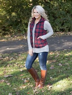 623c1a7aa058 Glamping Only Vest - Red - Eleven Oaks Boutique Plus Size Cowgirl, Cute  Fall Outfits