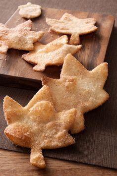 Fried Cinnamon Sugar Tortillas & My Love of Fall
