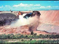 Teton Dam Failure, Snake River, Idaho, June 5, 1976 - YouTube