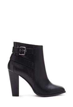 Square Toe Booties   FOREVER21 - 2000137613