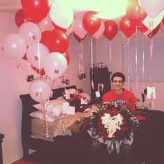 Prom Proposals Decorated Room