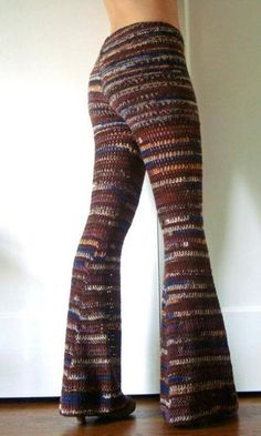 crochet pants....