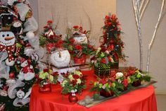 Christmas Display from Holiday Open House 2013! #burtonandburton #christmas