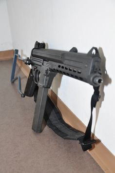 Rare Walther MPL. Awesome looking full auto 9mm.