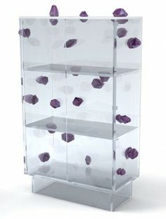 Campana Brothers Amethyst and Glass Cabinet Concept
