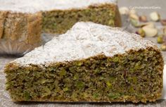 Italian Desserts, Italian Recipes, Torte Cake, Bakery Cakes, Daily Meals, Cakes And More, Pistachio, Sweet Recipes, Delicious Desserts