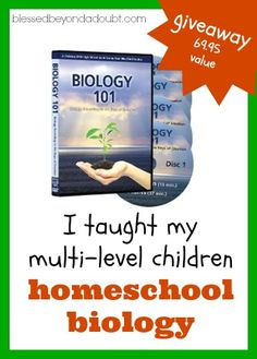 Teach Homeschool Biology as a Family! My kids loved this series, especially the Chemistry We can hardly wait for the Physics Homeschool Curriculum Reviews, Science Curriculum, Science Biology, Physical Science, Life Science, Science Ideas, Chemistry 101, Learning To Relax, High School Science
